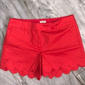 JCREW SHORTS with scallops